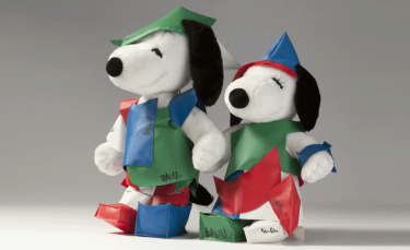 Snoopy&Belle in fashion