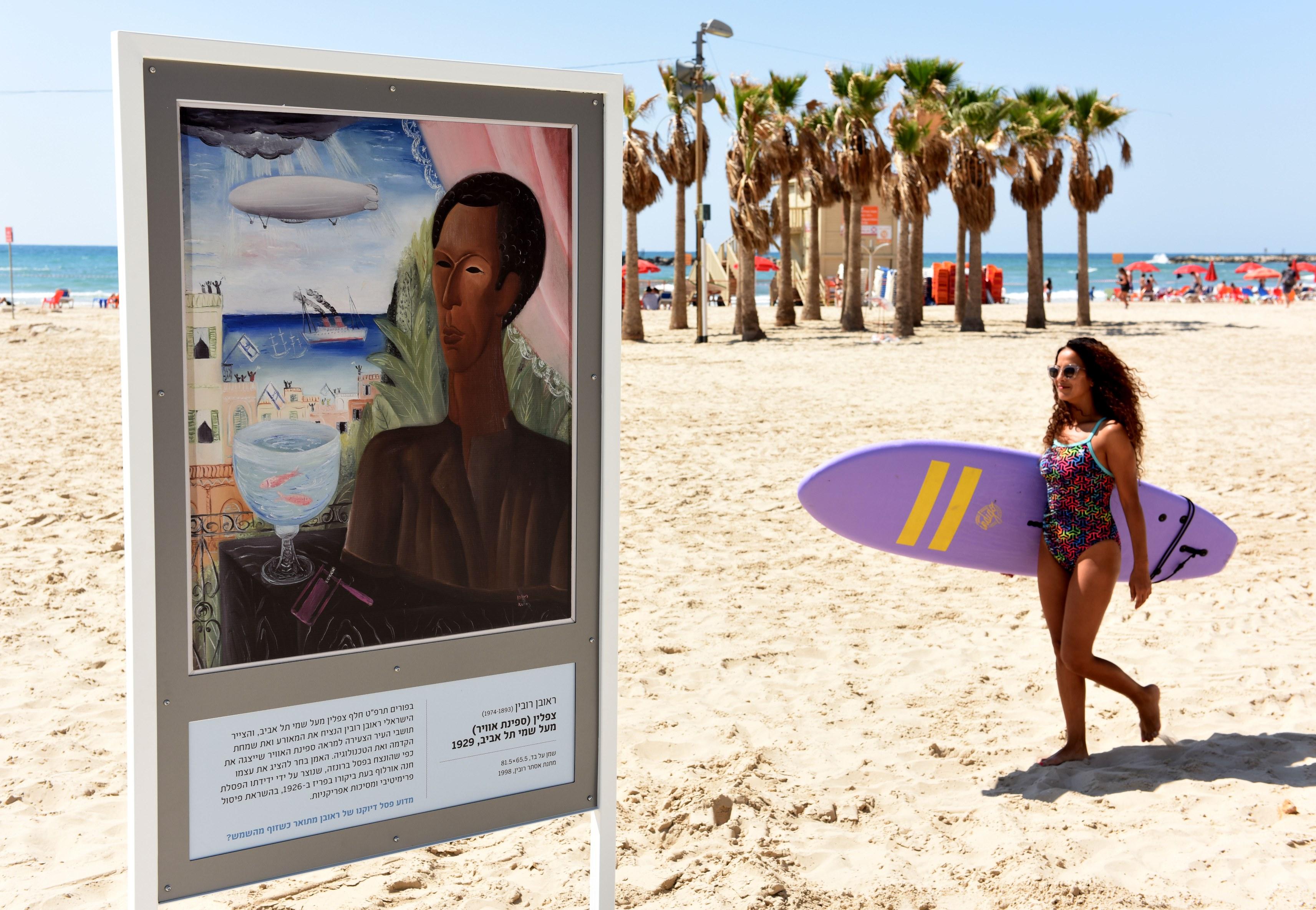 Picasso in bikini a Tel Aviv
